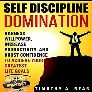 Self Discipline Domination audiobook cover art