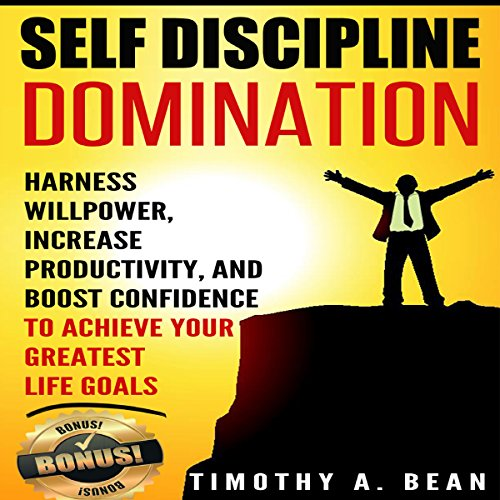 Self Discipline Domination audiobook cover art