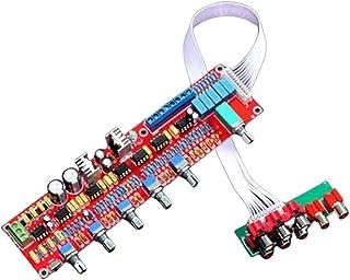 FANGLIANG Fit For NE5532 Preamplifier Bord HIFI 5.1 Tone Plate Volume Control Panel Preamp Mixer Board Pre-Amplifier Board