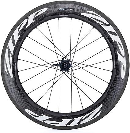 Zipp 808 Firecrest Carbon Clincher Road Wheel Black, Rear, SRAM/Shimano