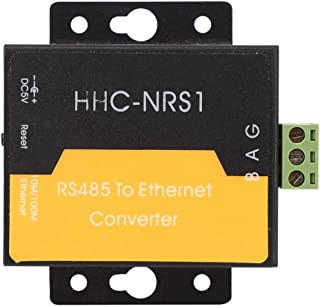 Natruss 485 to Ethernet Serial Server Network to RS485 Converter with 32-Bit Processing Unit HHC-NRS1