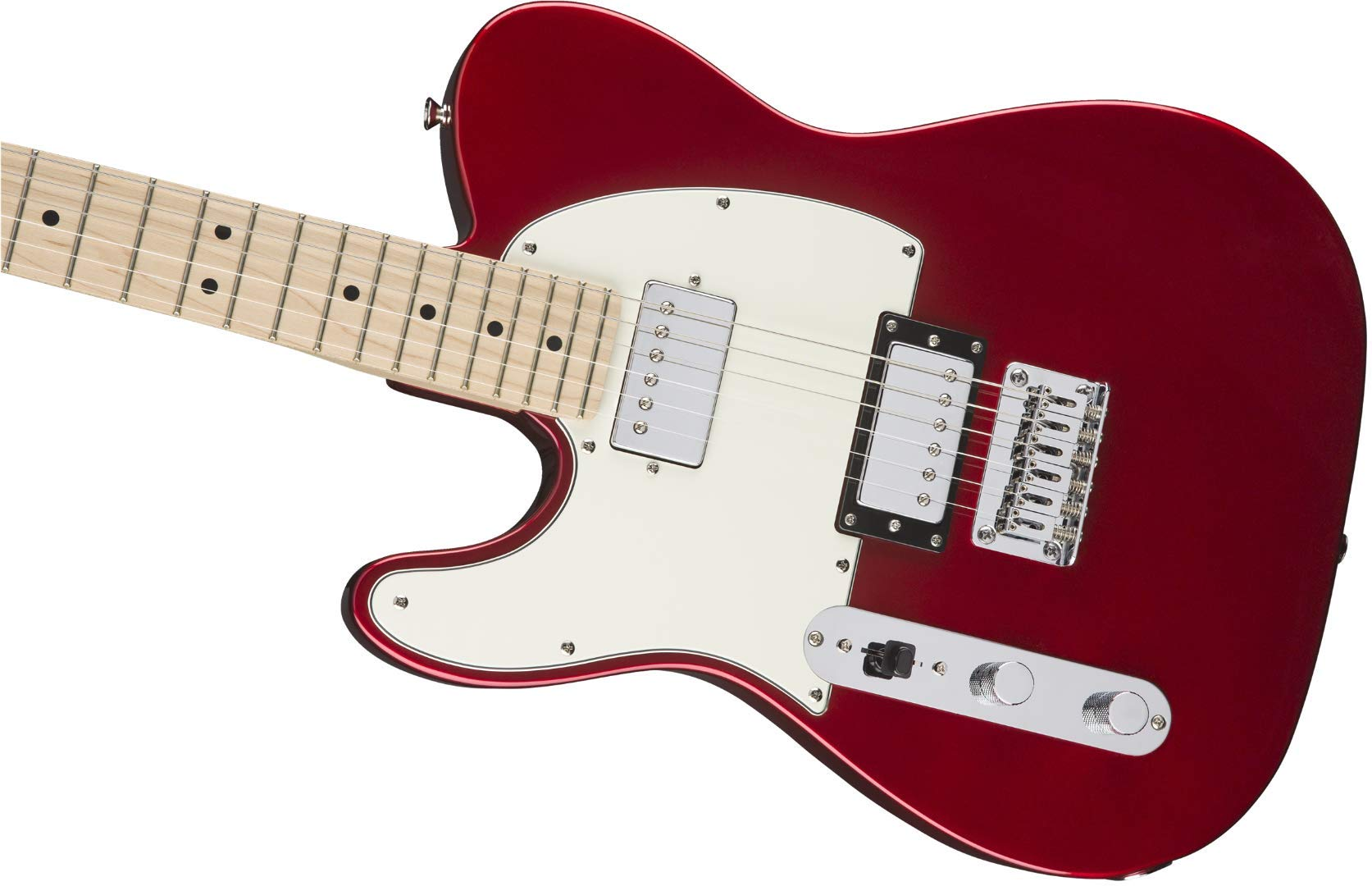 Cheap Squier by Fender Contemporary Telecaster HH Electric Guitar - Maple Fingerboard - Dark Metallic Red - LH Black Friday & Cyber Monday 2019