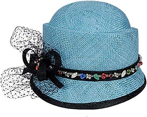 LIULAOHAN Unisexe Chapeau de Soleil pour Femme réversible, Capuchon de Prougeection UV à grand Bord pour Floppy Chapeau Parfait