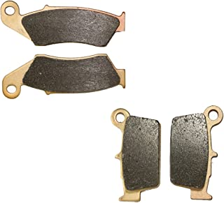 CNBK Sinter H-H Brake Pads Set for GAS GAS Dirt Bike EC300 EC 300 cc 300cc 2010 2011 2012 2013 2014 2015 10 11 12 13 14 15 4 Pads