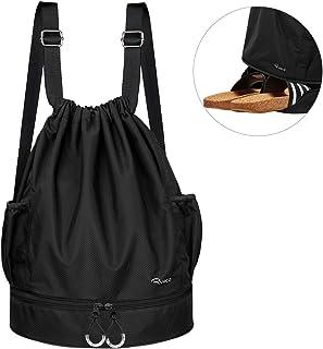 Mochila de Cuerda Unisex, Saco de Gimnasia para Deporte Gimnasio Yoga Nadar