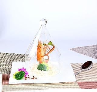 قبة زجاجية لمسدس المدخن، كلوش مدخن للمشروبات الغذائية، إكسسوار كوكتيلز سموك إنفيزر (اللون: أ)