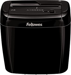 Fellowes Personal cross cut shredder Model - 36C with Safety Lock for Home Use, 6 Sheet shred capacity