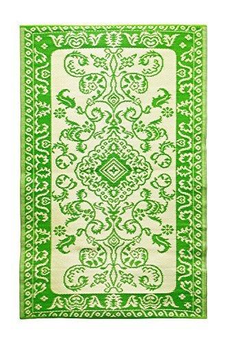 Achla Designs Tracerie Tapis de Sol, 4 by 15,2 cm Citron Vert