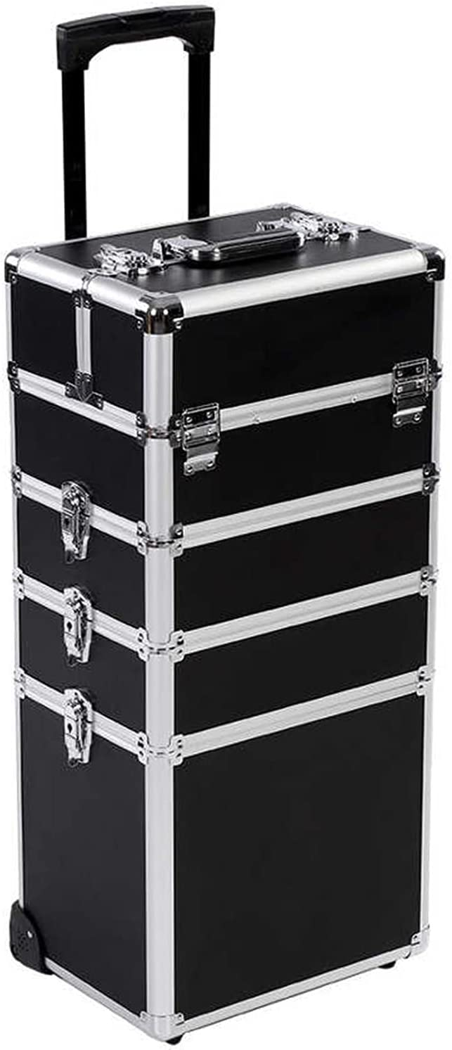 quality assurance Department store CJshop Tool Box Portable with Stor Beauty Wheels Travel