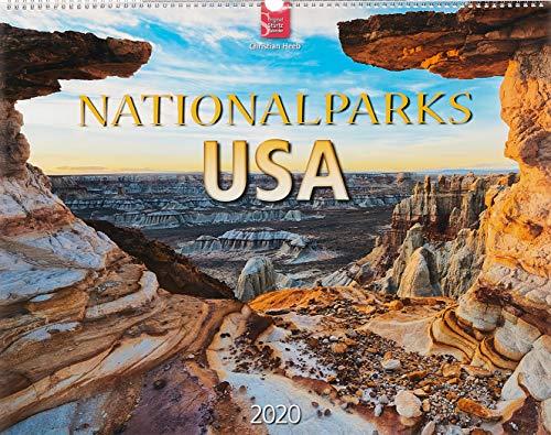 Nationalparks USA: Original Stürtz-Kalender 2020 - Großformat-Kalender 60 x 48 cm