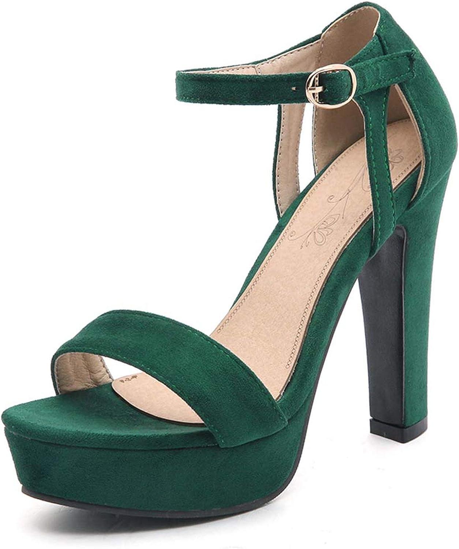 Thick Heels Sandals Summer Platform Sandals for Women Big Size shoes High Heels Sandals