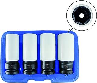 Astro Pnematic - Flank Bite Damaged Lug Nut Socket Set W/Spinning Protective Sleeves (model: 7404)