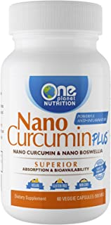 Nano Curcumin Plus - Powerful Anti-inflammatory, Antioxidant, Joint Pain Reliever (60 Capsules)