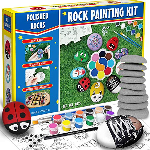 Bingo Castle Rock Painting Kit, Arts and...