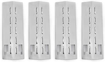 DcYourHome 4 Pack Stainless Steel Heat Plates for Gas Grill Model Sonoma PF30LP(16 3/8 X 5 7/16