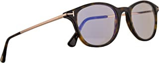 Tom Ford FT5553B Eyeglasses 50-19-145 Dark Havana w/Demo Clear Lens 052 FT5553-B FT TF 5553B TF5553B TF5553-B