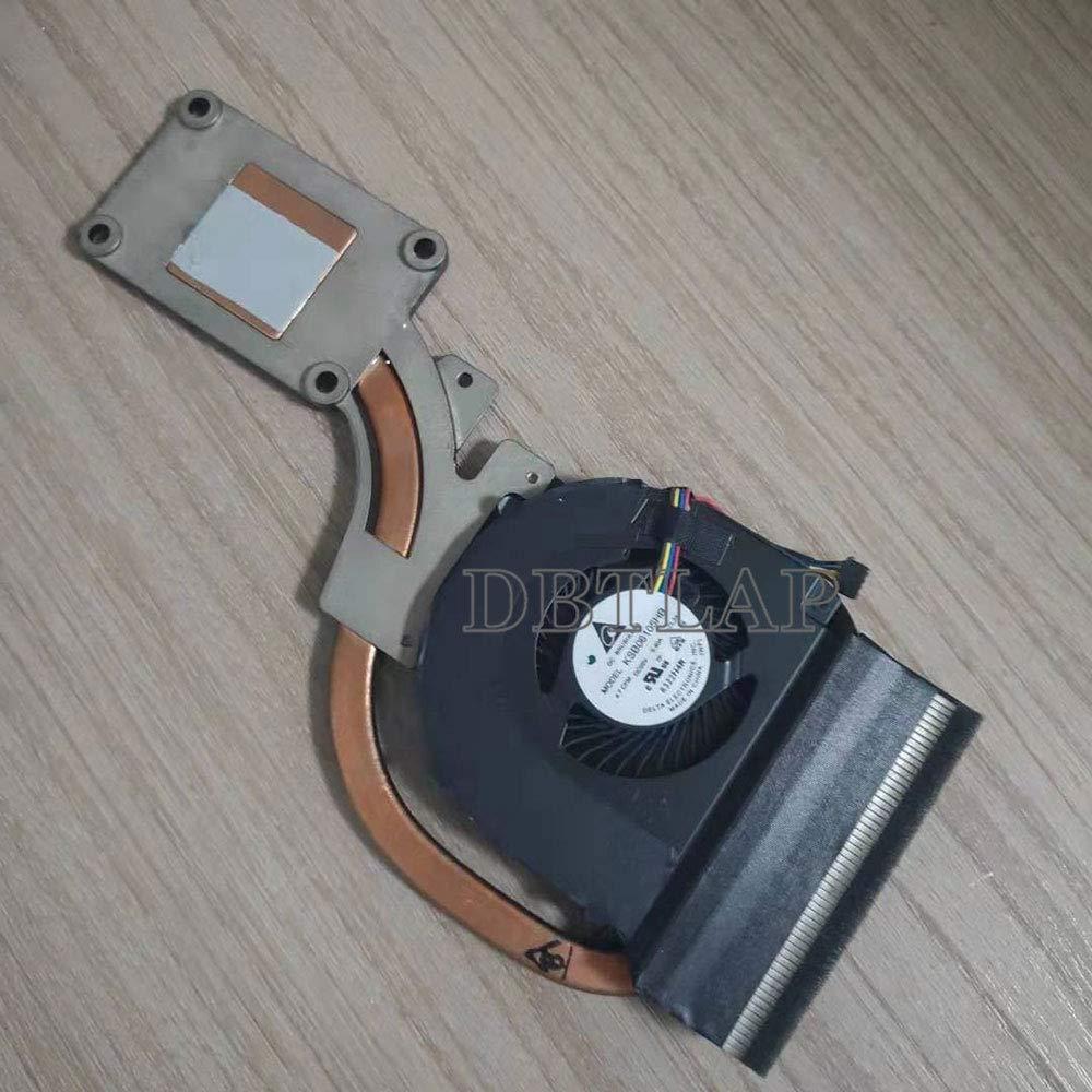 DBTLAP Fan Compatible for Dell Latitude E6440 Laptop CPU Cooling Fan & Heatsink AT0VG002ZCL