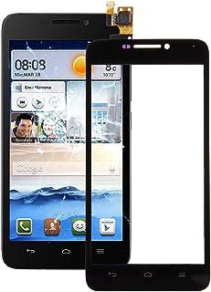 QFH For Huawei Ascend G630 Touch Panel(Black) قطع غيار لوحة اللمس للهاتف المحمول (Color : Black)