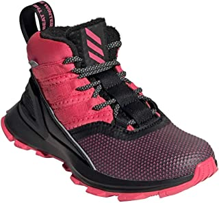 adidas Kid's RapidaRun ATR BTW Girls Running Shoes Core Black/Real Magenta/Real Pink 11.5 Little Kid