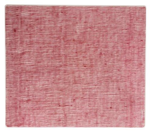 modern-twist MT 011571 Set de Table Lin, Silicone, Canneberge, 40 x 32 x 1,12 cm
