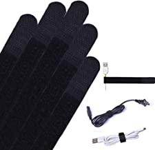 Avantree Pack of 50 Reusable Cord Organizer Keeper Holder, Fastening Cable Ties Straps for Earbud Headphones Phones Electr...