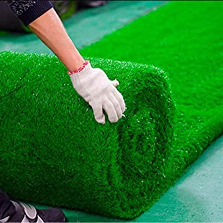 Artificial grass, Turf Plastic Synthetic Rug Super Thick Fake Carpet for Garden Doormat Outdoor Backed with Drainage Holes 2cm Height (Size : 2x3m)