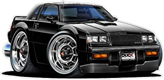 1987 Buick Grand National WALL DECAL Vintage 3D Car Movable Stickers Vinyl Wall Stickers for Kids Room