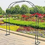 【美しさとエレガンスを加える】あなただけのエレガントな庭の特徴で裏庭の美しさを強調し、本当に素晴らしい外観を作りましょう。 【頑丈な安定構造】ガーデンアーチ型フラワースタンドセットは、耐久性があり損傷しにくい高品質の鉄素材で作られています。 それは長い耐用年数を持っています。 【魅力的なメタルアーチ】ツタや花、風船などの野外植物でアーチを飾り、結婚式などの野外イベントのバックドロップとしてもお使いいただけます。 【自由に組み立て】ガーデンアーチは組み立てが簡単で、接合後はネジで固定することで安定...