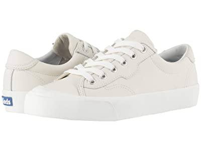 Keds Crew Kick 75 Leather (White Leather) Women