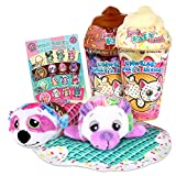 Basic Fun Cutetitos Babitos 2-Pack (5' Each) Furry Baby Friends - Ice Cream Series - Collectible Surprise Stuffed Animals Plush - Ages 3+ - Series 2 - Great Gift for Girls & Boys