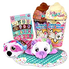 I scream, you scream, we all scream for Ice Cream Babitos This 2 Pack Bundle includes 2 Ice Cream Cones with 2 Surprise Cutetitos Babitos hidden within Open the cones and unroll TWO soft new furry baby friends 12 collectible styles wrapped in a waffl...