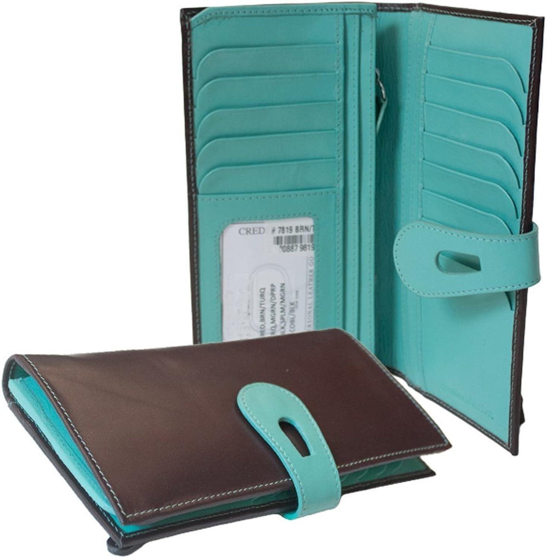 Ili New York 7819 Large Tab Wallet with RFID Blocking Lining