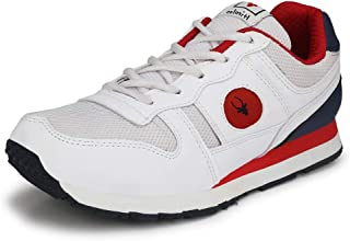 Hirolas Multisport Jogger Shoes- White/Red