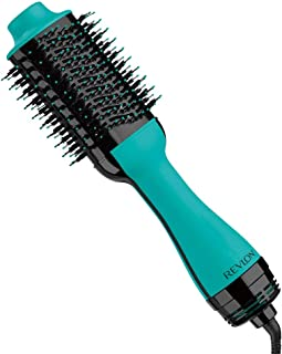 Revlon One Step Hair Dryer & Volumizer Hot Air Brush, Turquoise