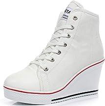 Amazon.com: high heeled converse