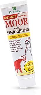 Dr. Ehrlichs Rote Mammuthus Moor Pflege Einreibung 100ml - extrastarke Pflege fur mobile Muskeln und Gelenke - intensive Moorsalbe - starker Warmeeffekt fur Rucken, Nacken, Schulter und Gelenke