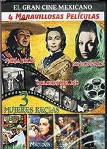 El Gran Cine Mexicano {4 Maravillosas Peliculas} 3 Mujeres Recias[tona Machetes/maclovia/senora Ama/juana Gallo] by MARIA FELIX & DOLORES DEL RIO & SONIA INFANTE