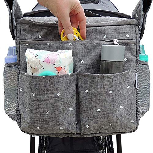 Diaper Bag Changeable Diaper Backpack Multifunction Mummy Package Admission Package Large Capacity Stroller Bags of Debris Storage Bag Mummy Bag, Versatile and Stylish, Suitable for mom