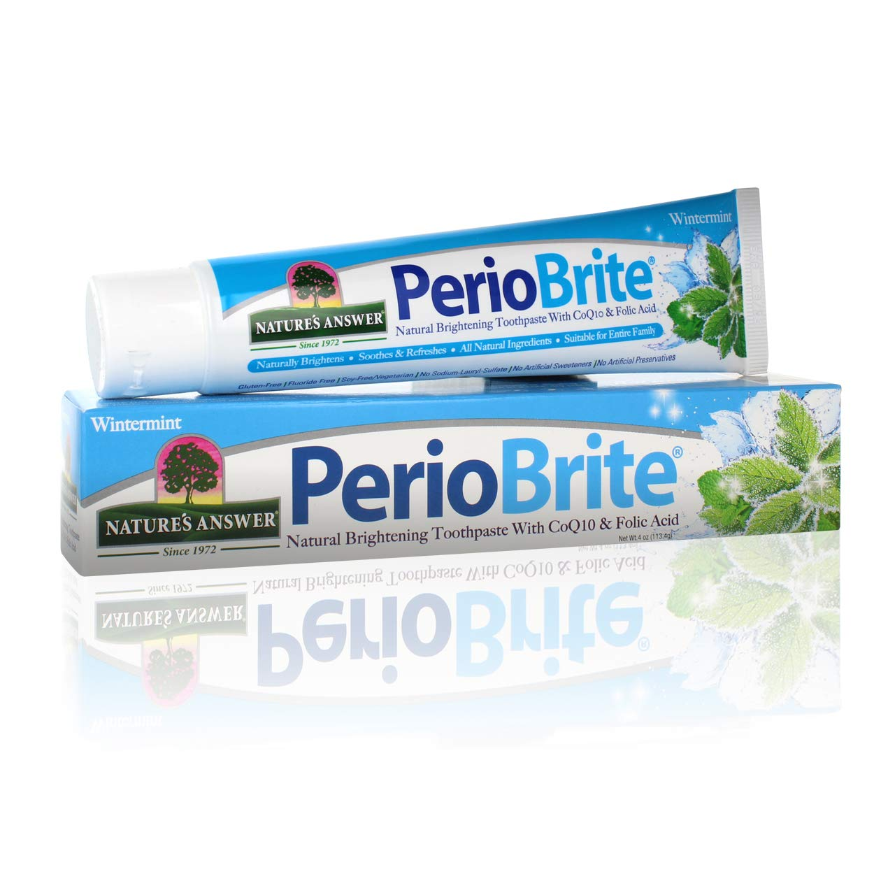 Nature's Answer Periobrite Natural Spring new work one after another Toothpaste Whitening Soothe It is very popular