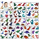 Tatuajes Temporales para Niños Niñas,80 No Repetitivo Dinosaurios Falso Applique,Genial tatoos Pegatinas,para Infantiles Adultos Adolescentes Fiesta de Cumpleaños Stickers Decor Regalo,10 Hojas