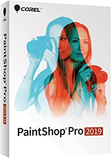 Paintshop Pro 2019 - Photo Editing [PC Disc] [Old Version]