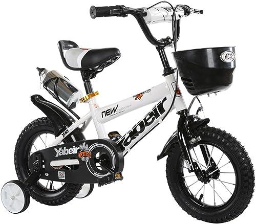 ahorrar en el despacho CivilWeaEU- Bicicleta del Doblez del Niño 3-6-8 años Cochecito de de de bebé 12 Pulgadas 14 Pulgadas 16 Pulgadas Bicicleta de 18 Pulgadas (Color   blanco, Tamaño   12Inch)  ahorre 60% de descuento