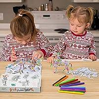 Puzzle per Bambini Ragazza Ragazzi 7 8 9 10 Anni, Kit Lavoretti Creativi Bambini 6-10 Anni Giocattoli Dinosauri Ragazzo Ragazze 9 10 11 12 Anni Giochi Creativi Bambina 8 9 10 Anni Regalo Compleanno #6