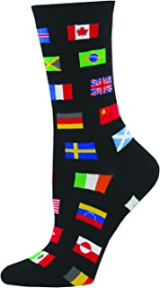 socks with flags of the world