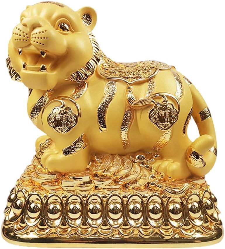 Cabilock Chinese Manufacturer OFFicial shop Zodiac service Tiger Resin Money Coin Piggy S Bank