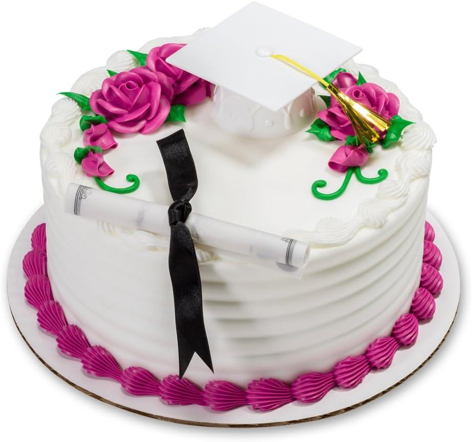 1 Graduation Hat Cake Topper Choose Color