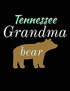 Tennessee Grandma Bear: Bear Journal Notebook to Write in