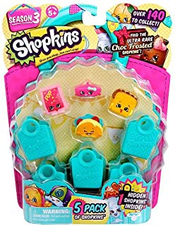 Shopkins Season 3, 5-Pack Case Pack Bundle - 6 Pack (30 Shopkins Total)