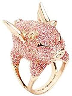 Kate Spade New York Gold Plated Metal Crystal Stones