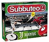 Giochi Preziosi Subbuteo Playset Juventus con 2 Equipos Alfombra de Juego, 2 Puertas, balón